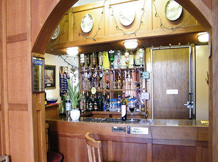 Tudor court falmouth has a fully licenced bar